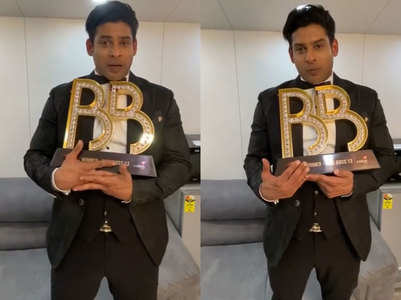 BB13: Sidharth thanks fans on winning trophy