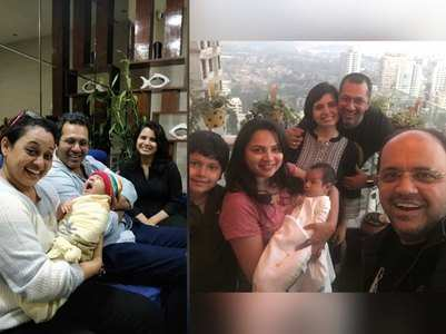 Taarak's Bhide-Madhavi meet Priya's baby
