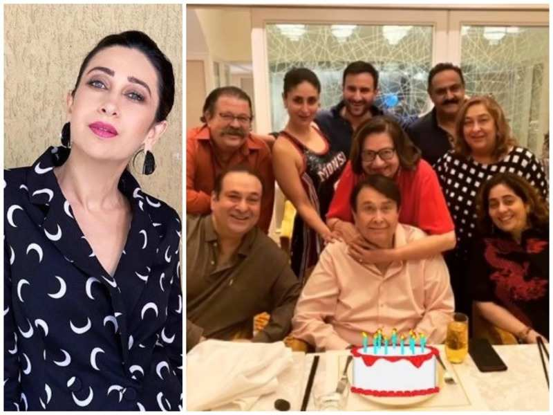 Karisma Kapoor and the photo she shared on her social media handle
