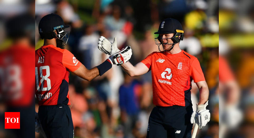 South Africa vs England, 3rd T20I: Magnificent Eoin Morgan guides England to series win - Times of India