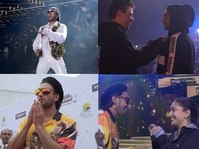 Ranveer shares a BTS video from Filmfare