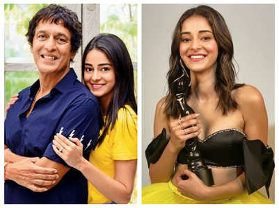 Chunky opens up on Ananya's Filmfare win
