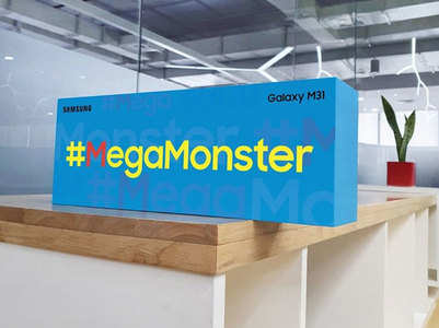 Samsung Galaxy M31 MegaMonster wave reaches BTown