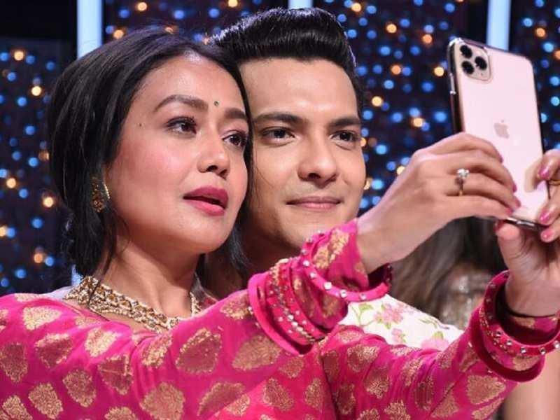 Indian Idol 11 Judge Neha Kakkar Reacts To Her Wedding Rumours With Host Aditya Narayan Times Of India