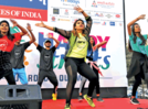 Happy faces at Aurangabad's Happy Streets event