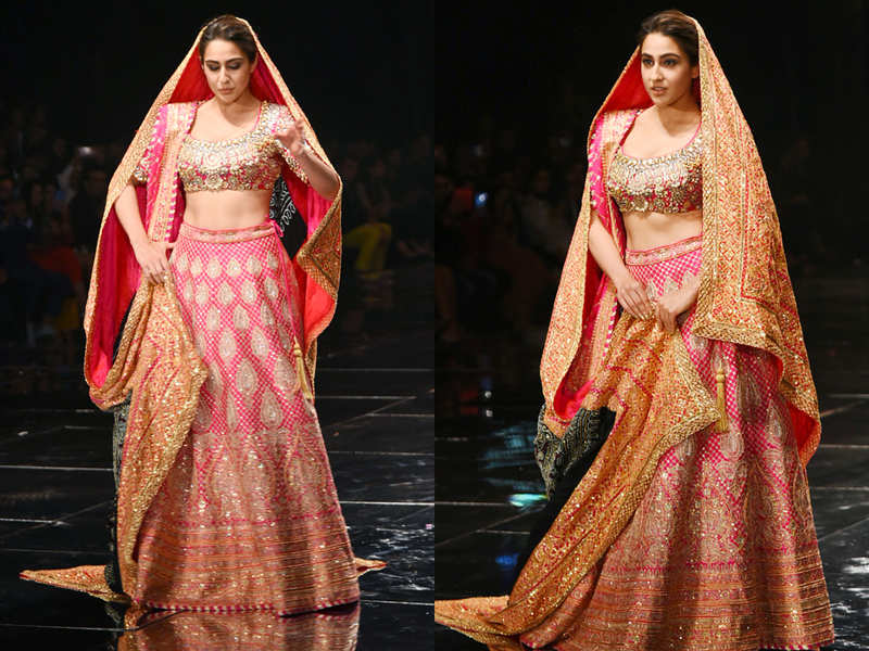 Everything you want to know about Sara Ali Khan's gorgeous BRIDAL avatar