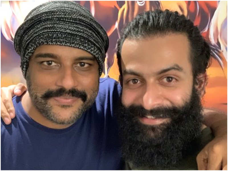 Here's the reason behind the twinkle in 'Lucifer' director Prithviraj Sukumaran's eyes in this latest photo