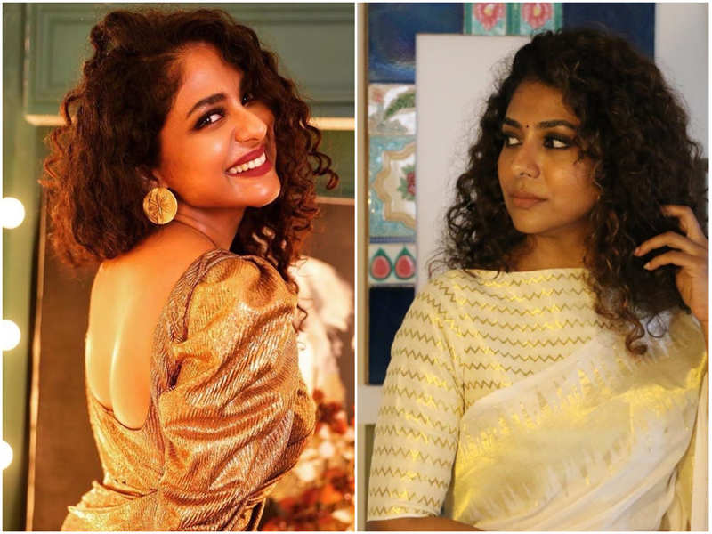 Five times when Poornima Indrajith impressed us with her saree looks