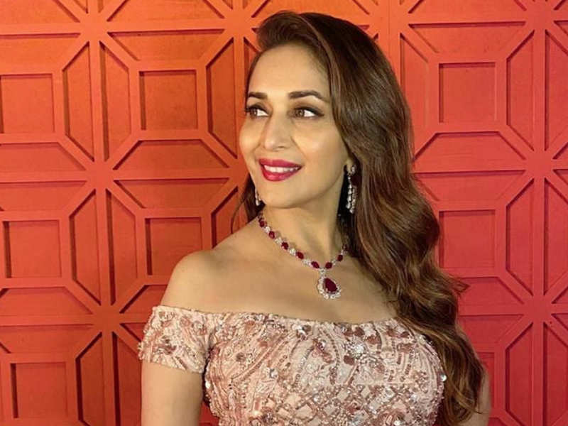 Exclusive! Madhuri Dixit Nene on her association with Filmfare: It's been a  journey filled with love | Hindi Movie News - Times of India