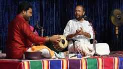 Changanassery Madhavan Namboothiri entertains with his classical notes