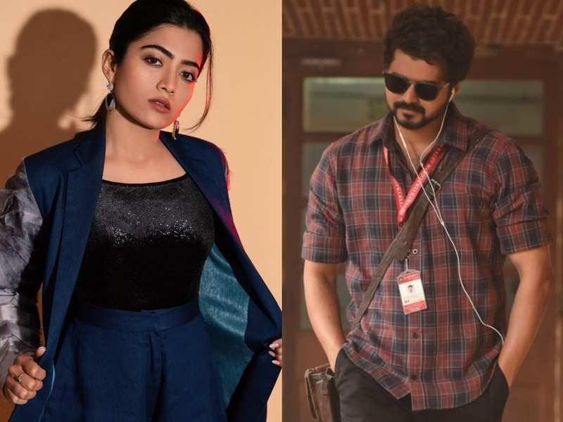 'Geetha Govindam' actress Rashmika Mandanna opens up about her crush on actor Vijay