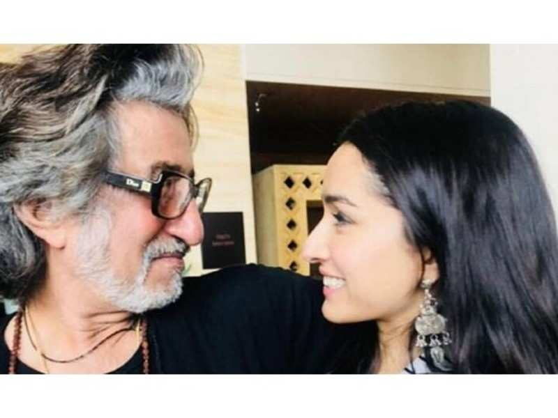 Shraddha Kapoor spends a day out with father Shakti Kapoor