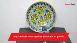 A ceramic pottery and sculpture exhibition organised in Kanpur
