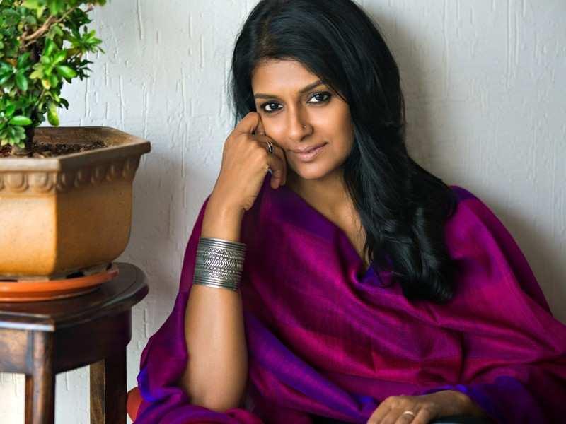 Nandita Das on the sets of 'Virata Parvam'