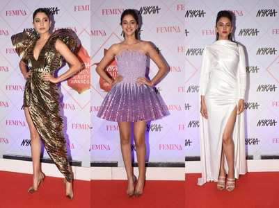 B'town beauties attend #FeminaBeautyAwards