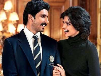 Ranveer-Deepika as Kapil Dev and Romi Dev
