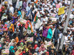 Massive protest against CAA in Chennai