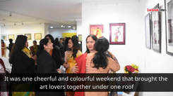 A memorable art exhibition in Lucknow