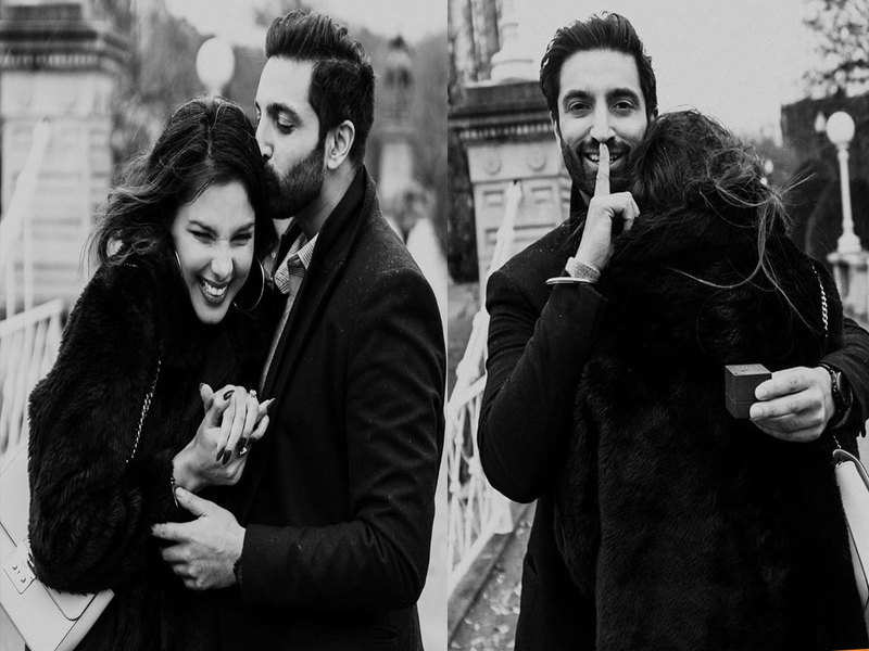 Monica Gill shares how Gurshawn Sahota proposed her and it's all things romantic