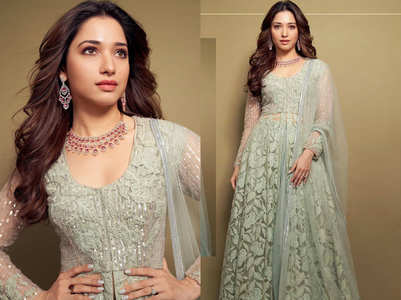 Tamannaah Bhatia looked ethereal in this attire