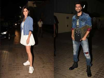 Katrina attends screening of  BF Vicky's film