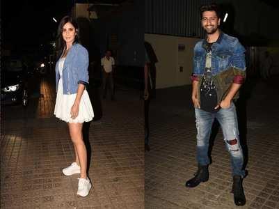 Katrina attends screening of  BF Vicky's film