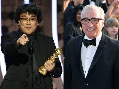 Parasite director: Scorsese is eagerly waiting