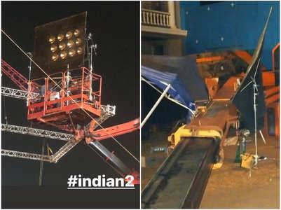 Accident kills 3 on Kamal's 'Indian 2' sets