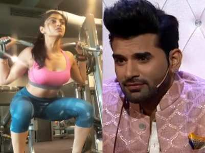 Post break-up from Paras, Akanksha hits gym