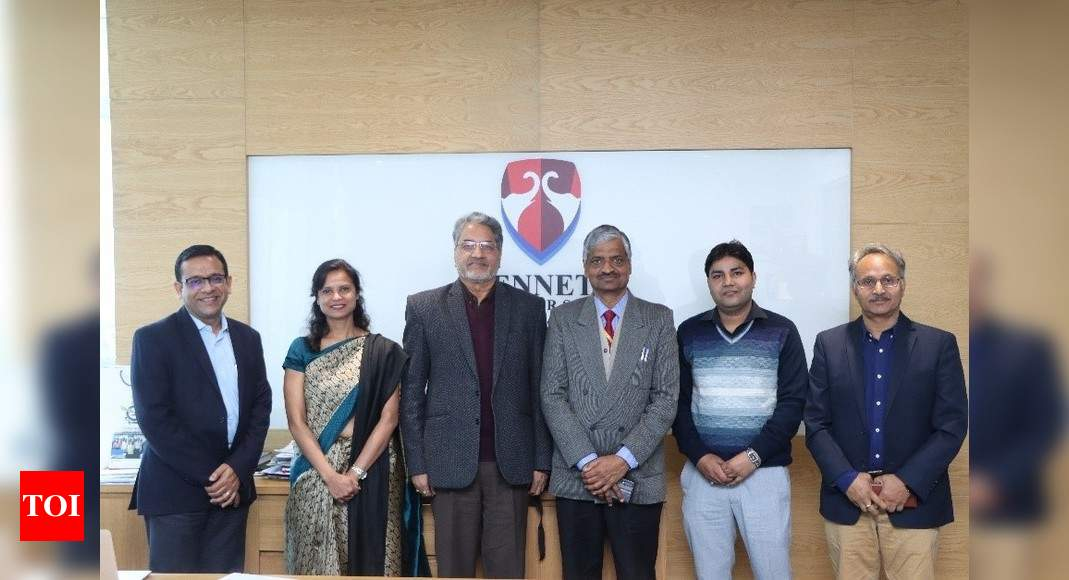 Bennett University showcases its engineering research capabilities to MSME Institute thumbnail
