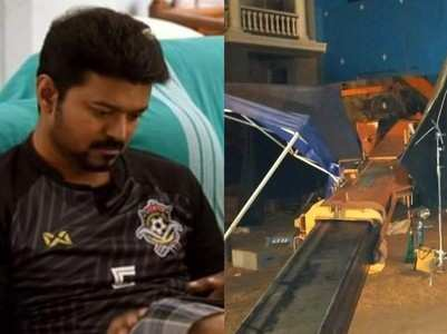 #Indian2 : Same mishap occurred on Bigil sets
