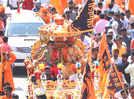 Amidst dhol-tasha beats Aurangabadkars celebrated Shiv Jayanti