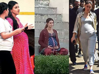 Divas who played pregnant on the celluloid