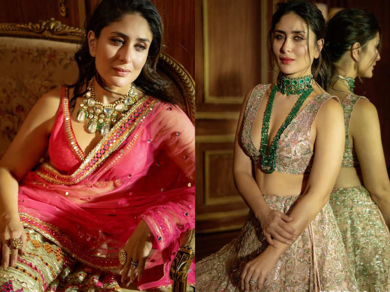 Kareena Kapoor Khan just showcased two wedding looks and we can't stop gushing over them