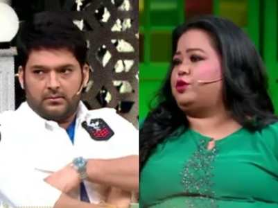 Bharti makes fun of Kapil and Archana