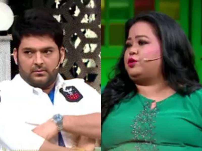 Bharti Singh makes fun of Kapil Sharma and Archana Puran Singh by calling their job easy, watch