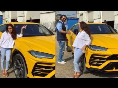 KKK10's Amruta shows off her swanky new car