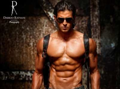Hrithik's caption for his abs is hilarious