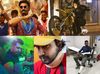 South actors who were injured on film sets