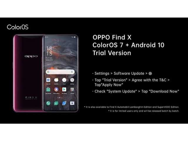ColorOS 7 trial version now available on flagship Oppo devices in India