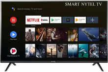 Nytel 80 cm (32 Inches) HD Ready Smart Android LED TV SL-32-Smart (Black) (2020 Model)