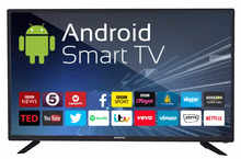 eAirtec 81 cm (32 inches) HD Ready Smart LED TV 32DJSM (Black) (2018 Model)