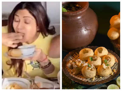 Shilpa Shetty expresses love for Pani Puri