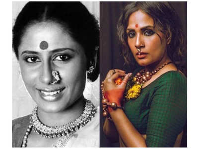 Richa's uncanny resemblance to Smita Patil