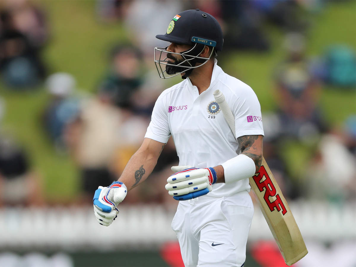 Virat Kohli's lean patch on New Zealand tour continues   Cricket News -  Times of India