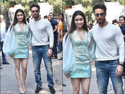Shraddha and Tiger promote Baaghi 3 in style