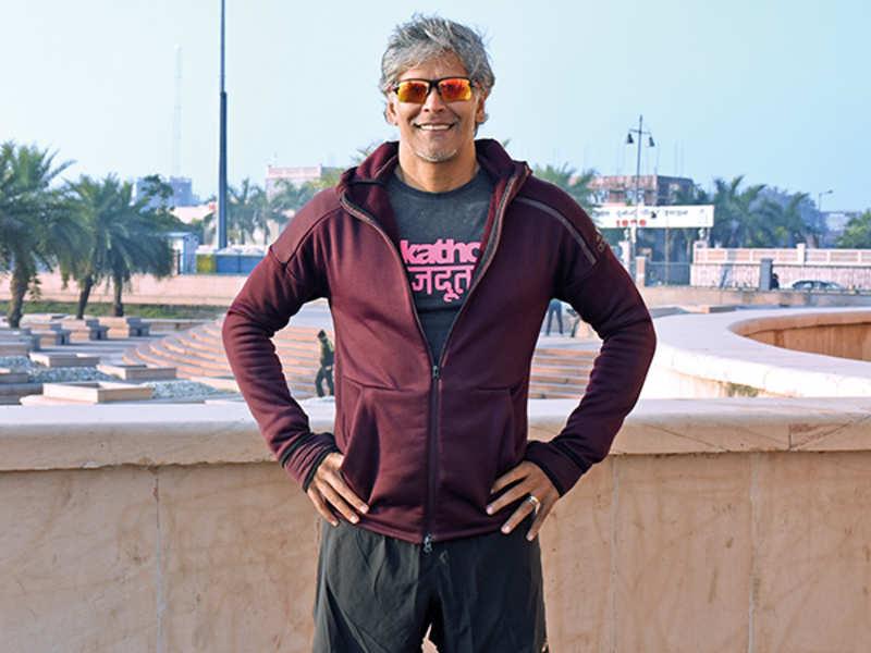 Milind Soman (BCCL/ Vishnu Jaiswal)
