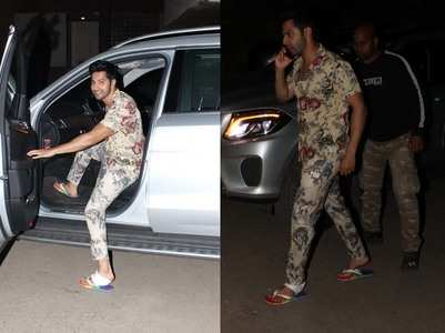 Photos: Varun Dhawan is still in Goa mood!