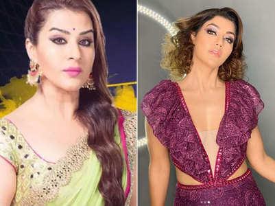 Shilpa was to play Debina's role in Aladdin
