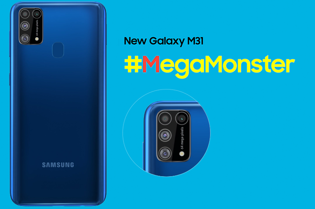 3 Reasons why the Galaxy M31 will win-it-all with its 64MP quad-cam, a massive 6000mAh battery & sAMOLED display